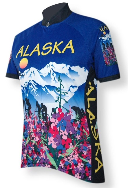 Alaska Flower Jersey - Women's