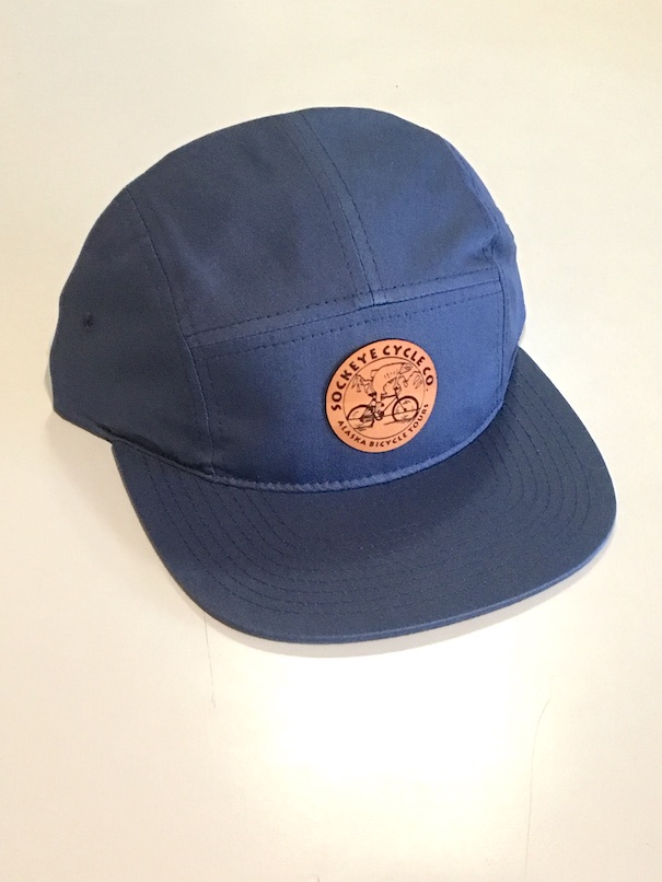 Blue 5 Panel Hat Image