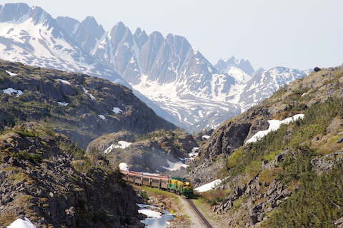 White Pass Train and Bike Tour