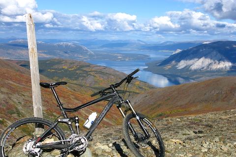 Carcross Mountain Bike Trail Riding