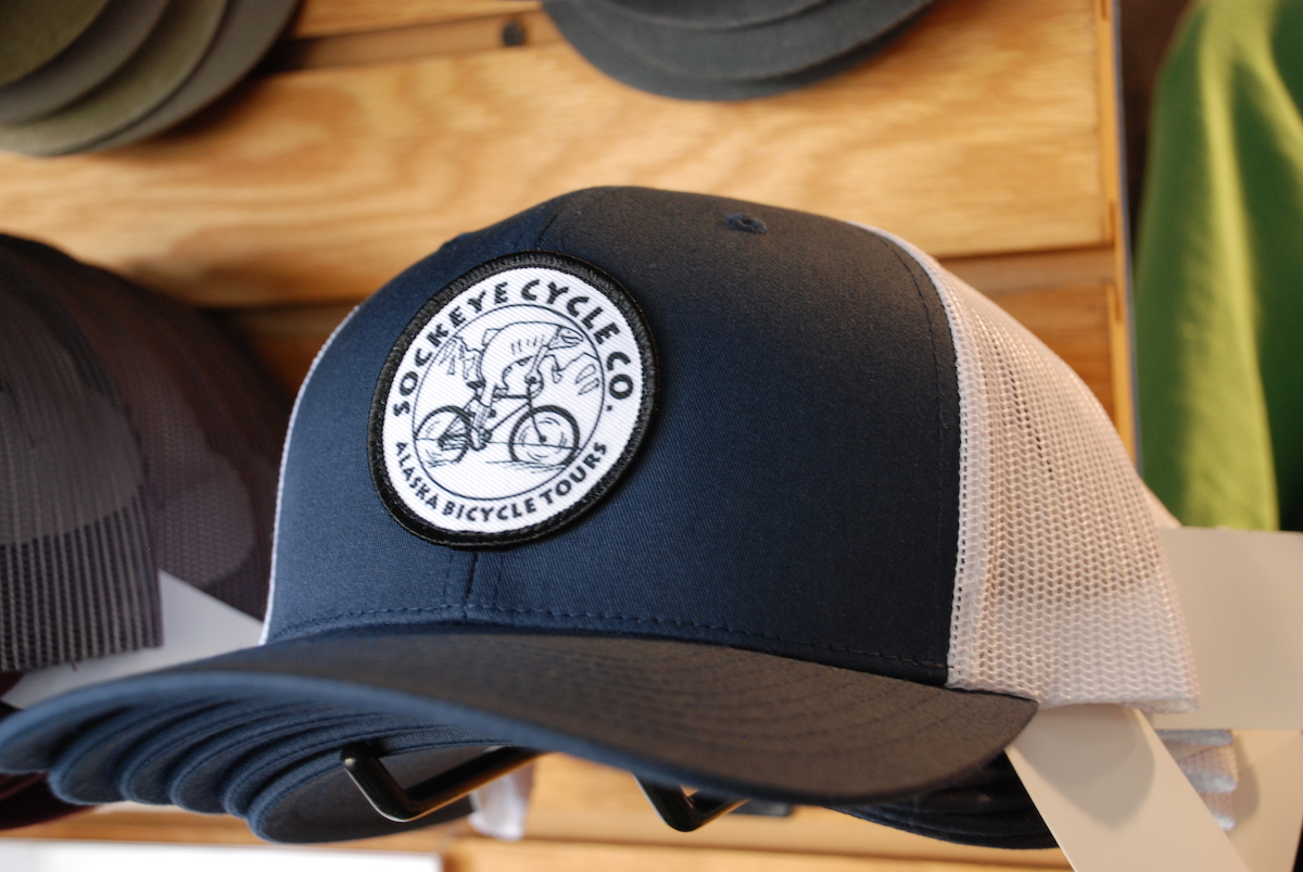 Sockeye Cycle Logo Trucker Hat