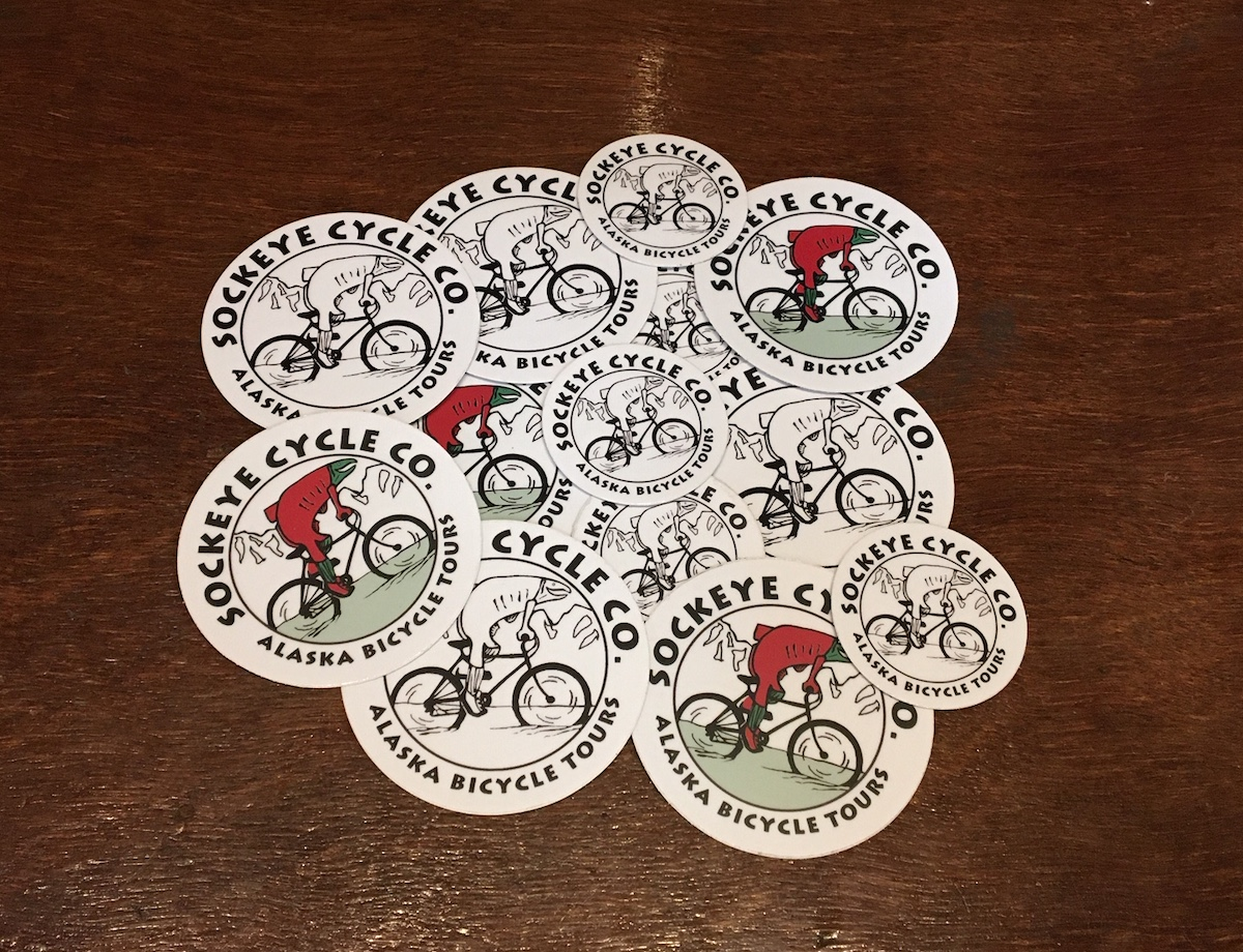 Sockeye Cycle Stickers