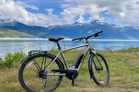 Glacial Fjord by E-Bike